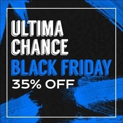 Última Chance Black Friday 35% OFF